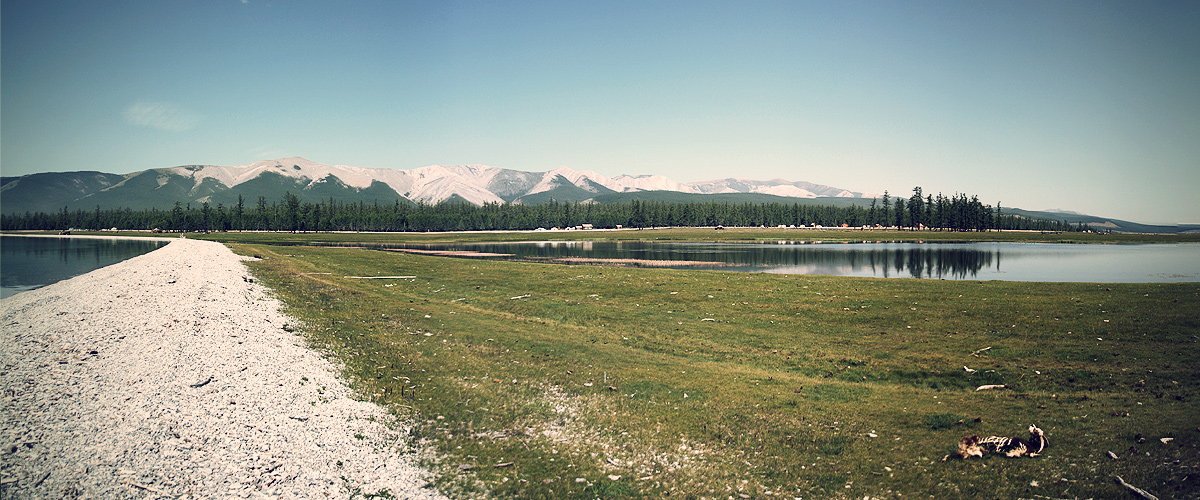 Lake Huvsgul - View