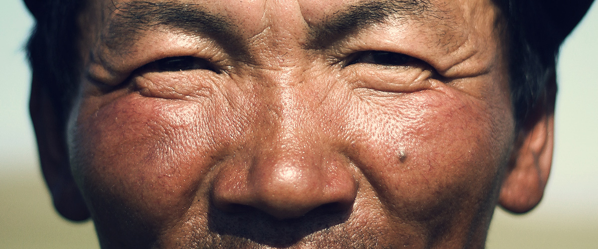 Eyes of a mongolian nomad